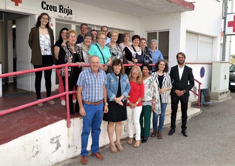La XVI Trobada Comarcal de Creu Roja a la Noguera aplega  45 voluntaris i voluntàries a Balaguer