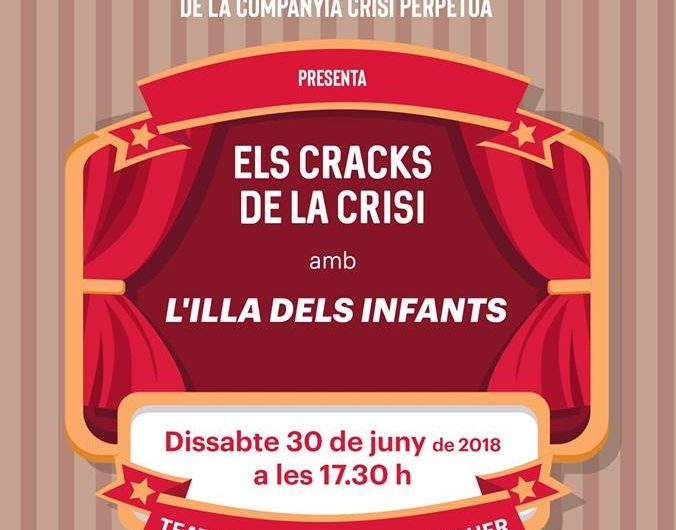 L'Aula de Teatre de la companyia Crisi Perpètua presenta aquest dissabte 'L'illa dels infants'