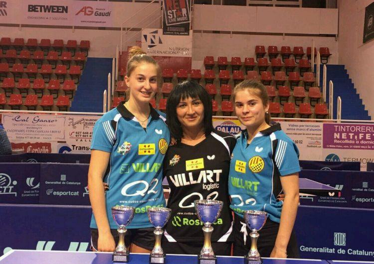 El CTT Balaguer aconsegueix 3 bronzes al Campionat de Catalunya Infantil