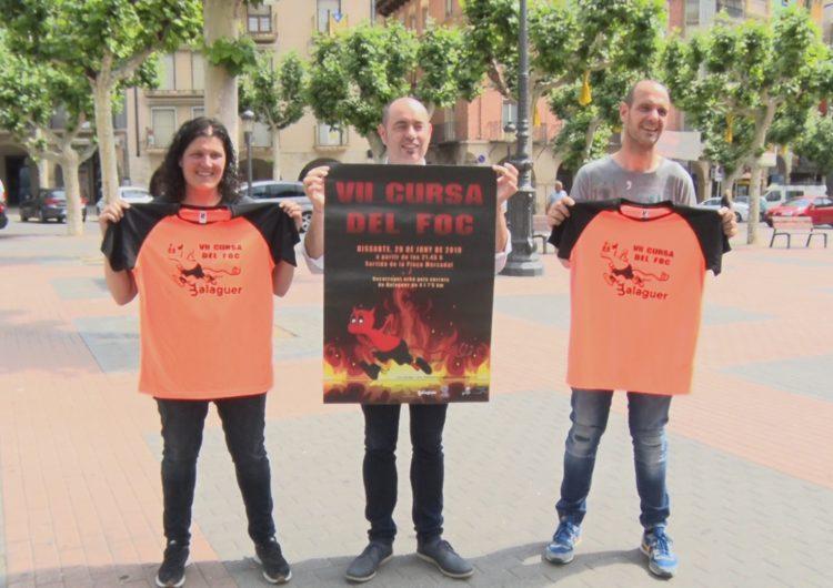 L'Ajuntament de Balaguer presenta la VII Cursa del foc