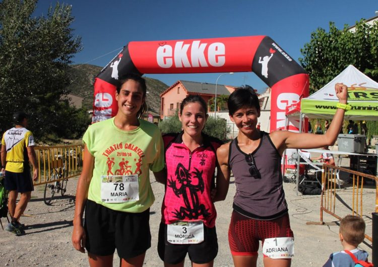 Xavier Sahuquillo i Mònica Malla, guanyadors de la Pujada a Sant Jordi de Camarasa, darrera prova de les TRS Lleida