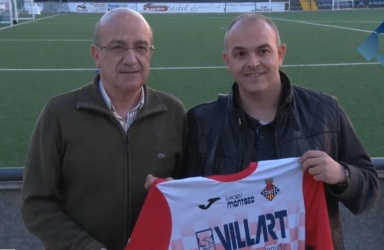 Dani Valls, nou responsable de la secció amateur del CF Balaguer