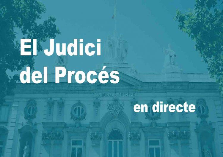 DIRECTE: El Judici del Procés