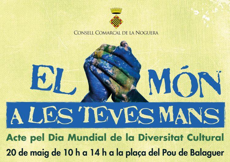 Balaguer celebrarà el Dia Mundial de la Diversitat Cultural el proper 20 de maig