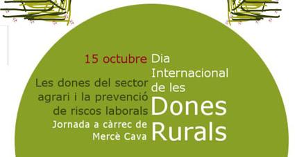 Balaguer celebra demà el Dia Internacional de les Dones Rurals amb una xerrada sobre les dones del sector agrari i la prevenció de riscos laborals