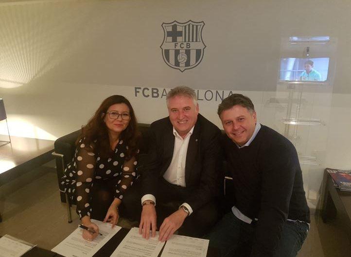 L'EFS Balaguer Comtat d'Urgell renova el conveni de col·laboració amb el F.C Barcelona