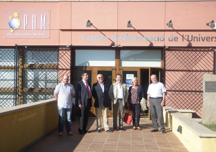 El COU del Montsec, punt de referència per al futur projecte de divulgació astronòmica de Xile