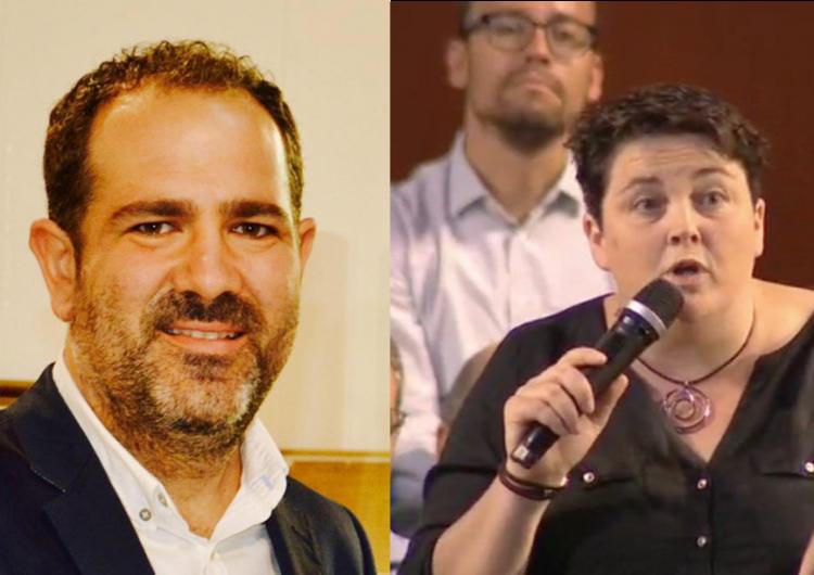 Estefania Rufach i Eloi Bergós seran els representants de la Noguera a la Diputació de Lleida