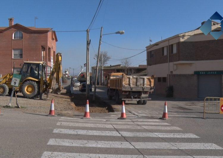 Comencen les obres del camí escolar dels Erals de Balaguer