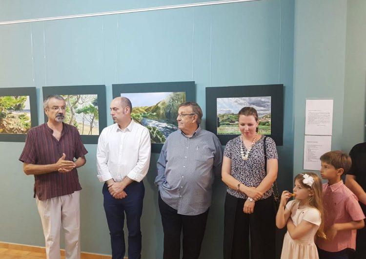 L'Escola Ermengol de Balaguer inicia un cicle d'exposicions amb una mostra d'aquarel·les de Josep Maria Mora