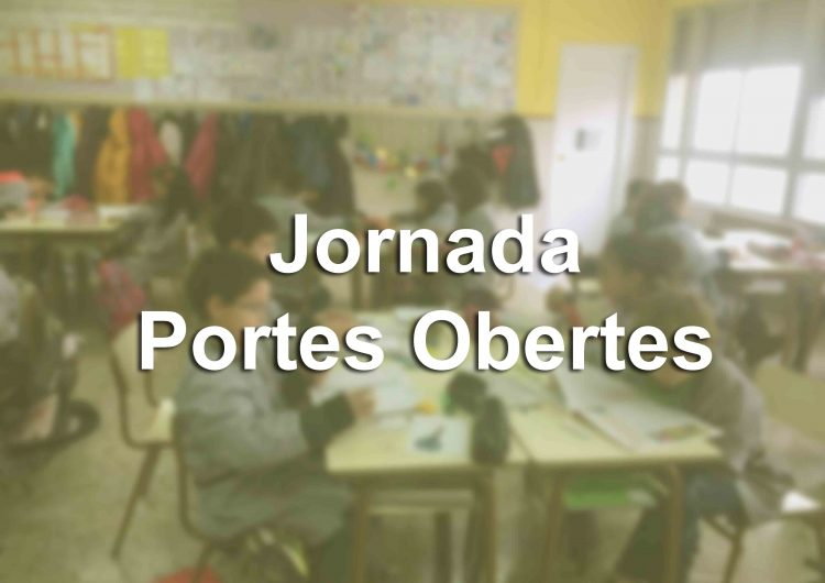 Les escoles de Balaguer preparen les Jornades de Portes Obertes