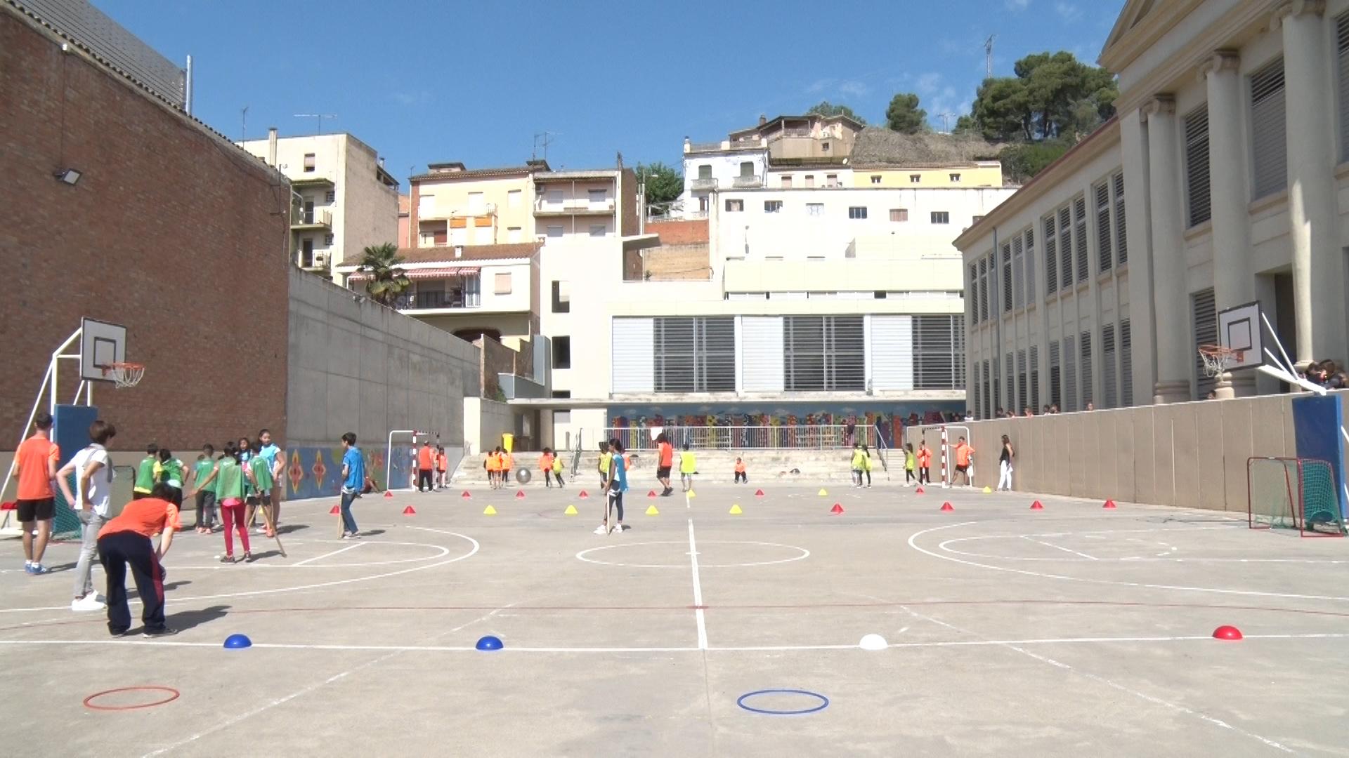 L'Escola Àngel Guimerà desenvolupa un projecte d'esport inclusiu