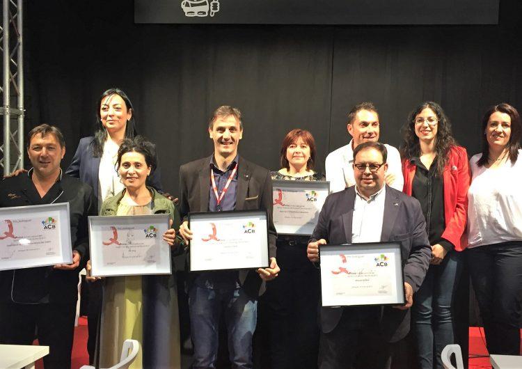 L'Associació de comerciants de Balaguer premia els millors estands de Fira Q en la 1a Nit de l'Expositor