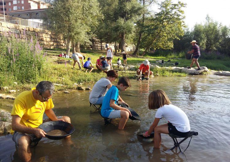 """El Centre d'Interpretació de l'Or del Segre organitza al juliol i agost l'activitat """"A l'estiu l'or el busquem al riu"""""""