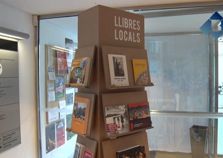 Balaguer estrena expositors de llibres i autors locals