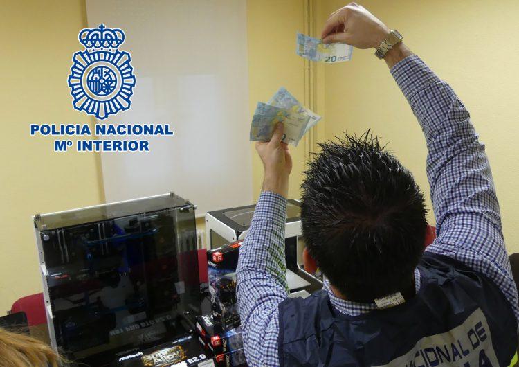 Set detinguts, un d'ells a Lleida, per comprar diner fals en una impremta clandestina desmantellada a Àustria