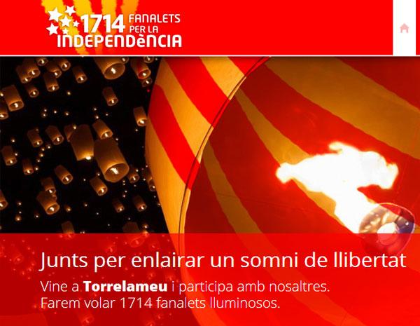 Torrelameu vol enlairar 1714 fanalets el 15 de febrer per commemorar el Tricentenari i reivindicar l'independència