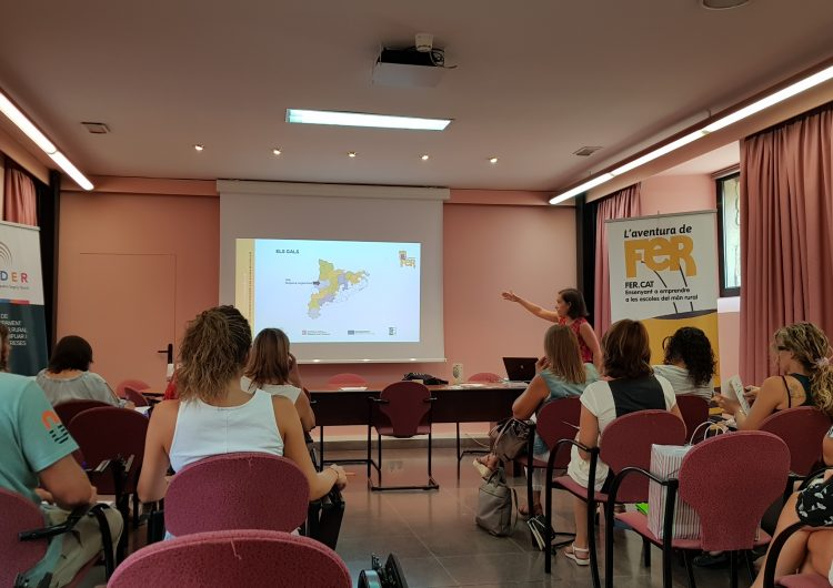 """Més de 240 alumnes de la Noguera i el Segrià Nord participen al projecte """"Futurs Emprenedors Rurals"""""""
