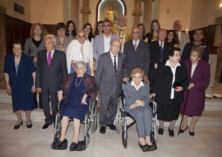 Montgai homenatja els veïns de més de 90 anys