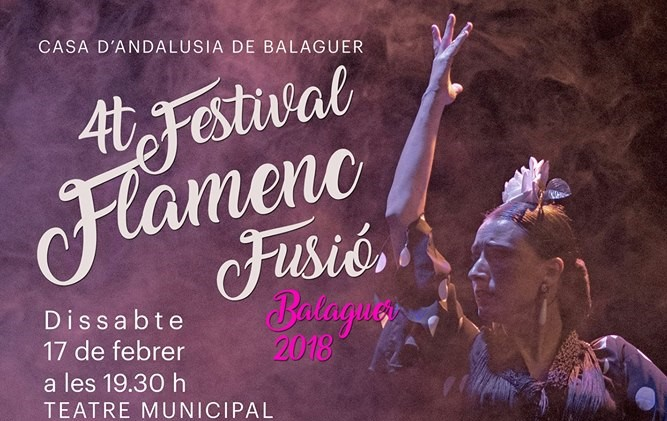 La Casa d'Andalusia de Balaguer organitza el 4t Festival Flamenc Fusió