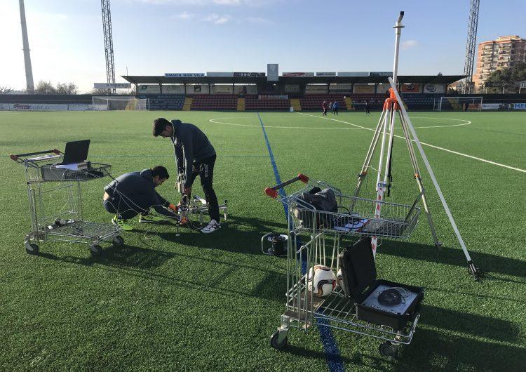 El camp de futbol de Balaguer es sotmet a la certificació FIFA i FIFA PRO
