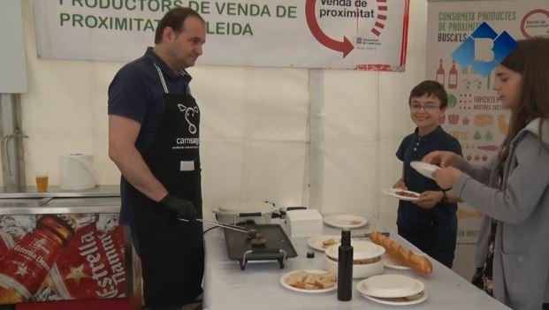 Bellcaire d'Urgell celebra la 2a edició de 'Fira Bell' amb una setantena d'expositors