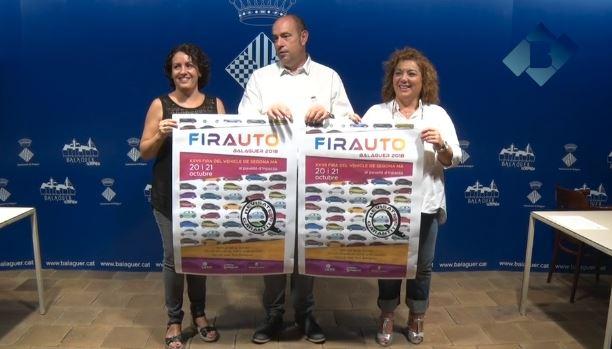 Més de 220 vehicles d'ocasió a la 27a edició de Firauto Balaguer