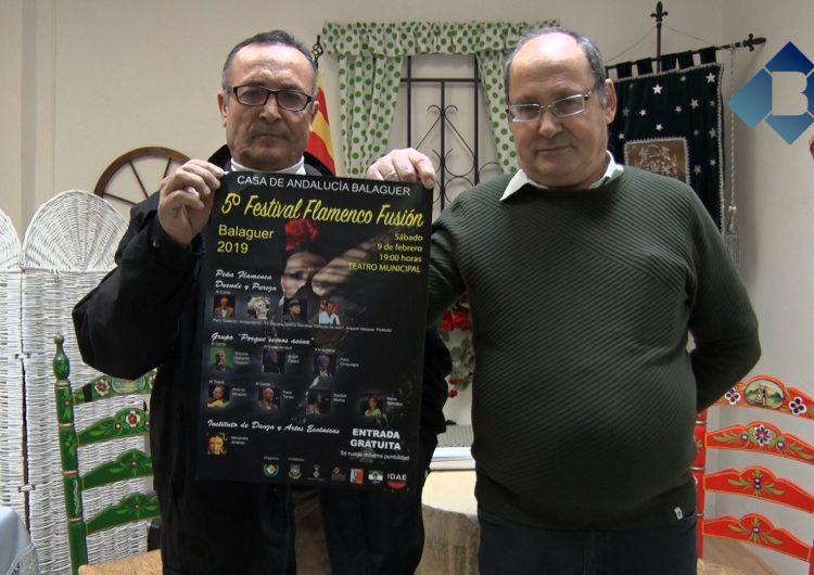 La Casa d'Andalusia organitza el 5è Festival Flamenc Fusió