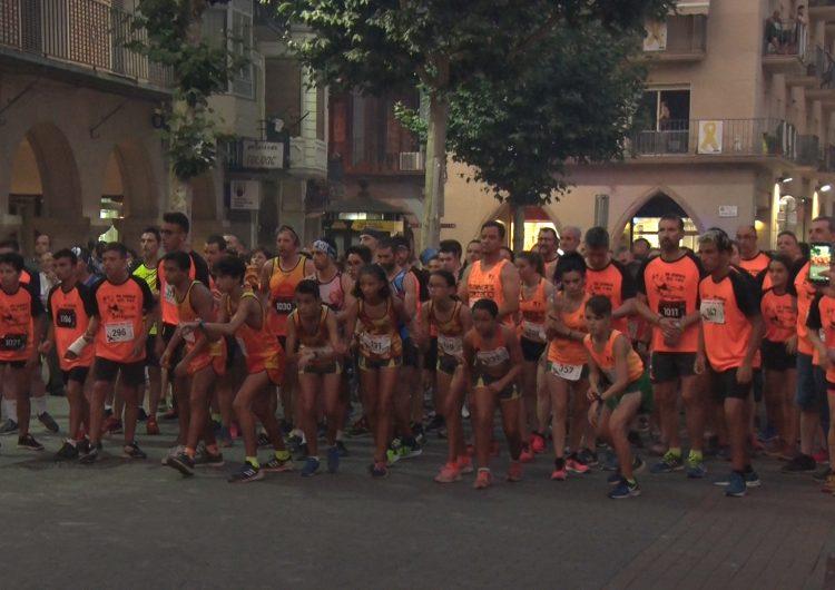 Balaguer celebra una acalorada 7a edició de la Cursa del Foc