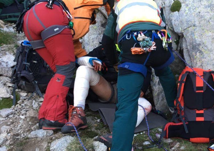 Dos nois de 19  i 26 anys de Balaguer i Bellcaire, en estat greu després de caure per una muntanya a Benasc