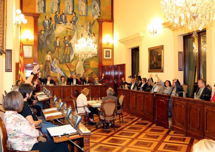 """La Diputació de Lleida exigeix l'alliberament immediat de Sànchez i Cuixart i denuncia l'ús """"partidista"""" de la justícia"""