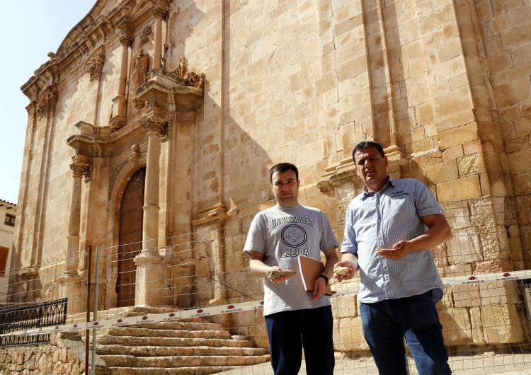 Clausuren l'església d'Algerri per esquerdes i despreniments