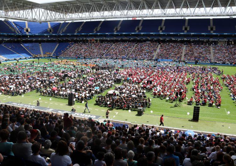 L'Escola Municipal de Música ha participat a la celebració del 25è aniversari de l'ACEM que ha reunit més de 5.500 músics