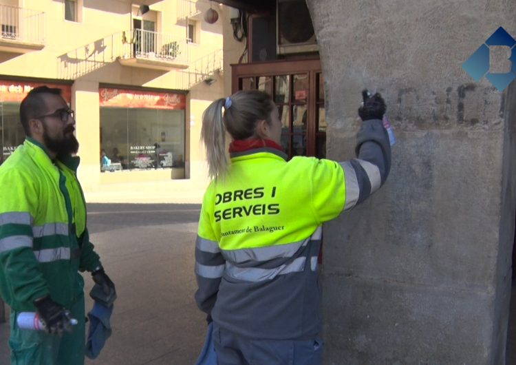 Balaguer, lliure de simbologia franquista