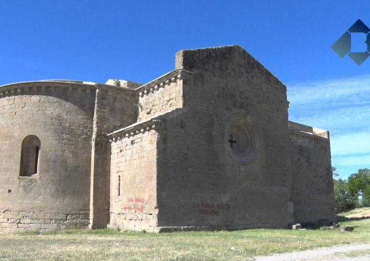 L'Ajuntament de Balaguer i el Departament de Cultura valoren els danys del monestir de Santa Maria de les Franqueses