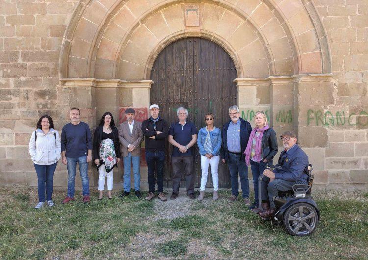 Acte de rebuig a l'atac ultra al Monestir de Santa Maria de les Franqueses de Balaguer
