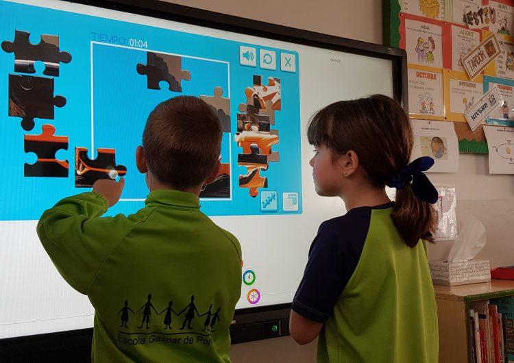 Transformació digital a l'Escola Gaspar de Portolà