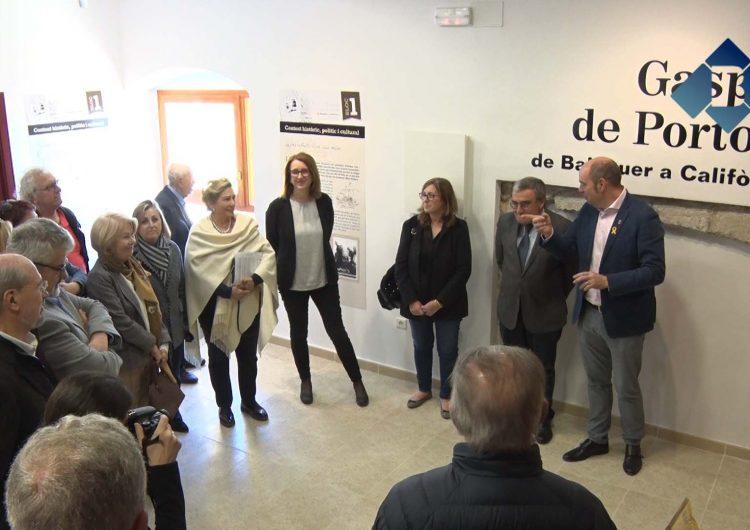 Balaguer obre al públic el nou Espai Portolà a l'antiga rectoria de Santa Maria