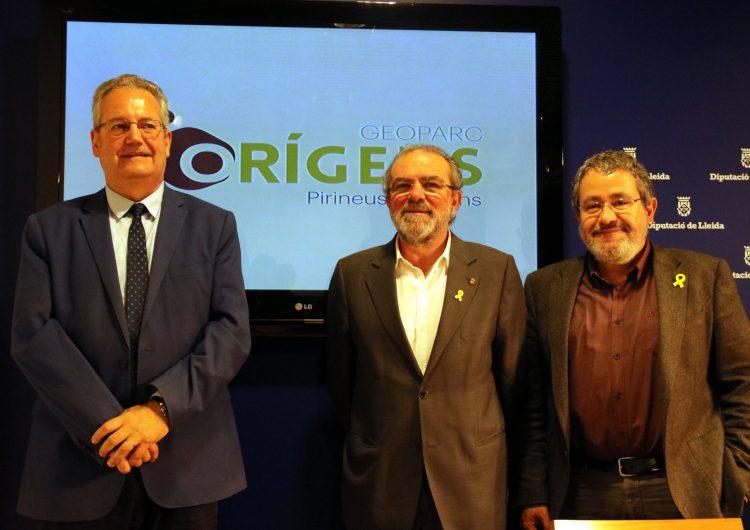 El Geoparc Conca de Tremp-Montsec pren el nom 'Orígens-Pirineus Catalans' com a marca per donar-se a conèixer