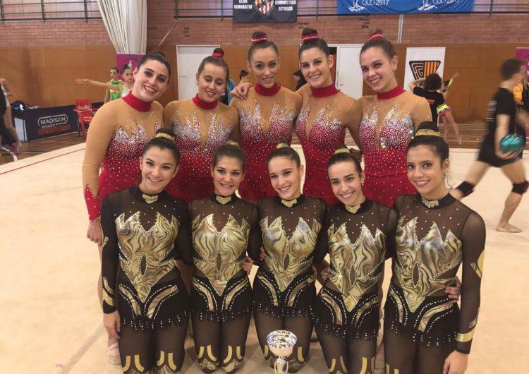 Les gimnastes del Club Gimnàstica Rítmica Balaguer es classifiquen per la final de Catalunya de la Copa Catalana