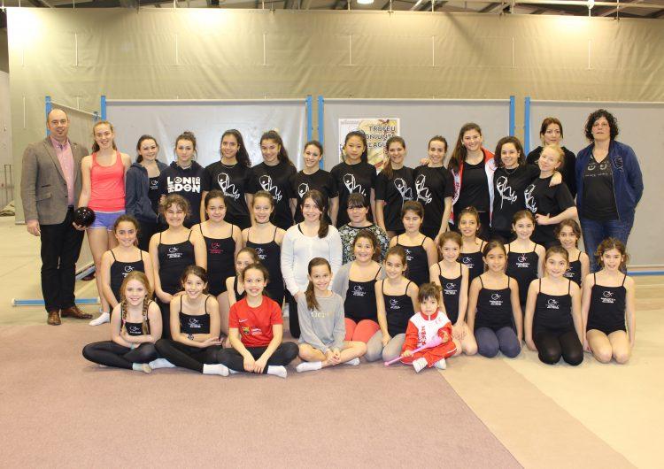 El trofeu de gimnàstica rítmica Ciutat de Balaguer comptarà amb la presència de la gimnasta Almudena Cid