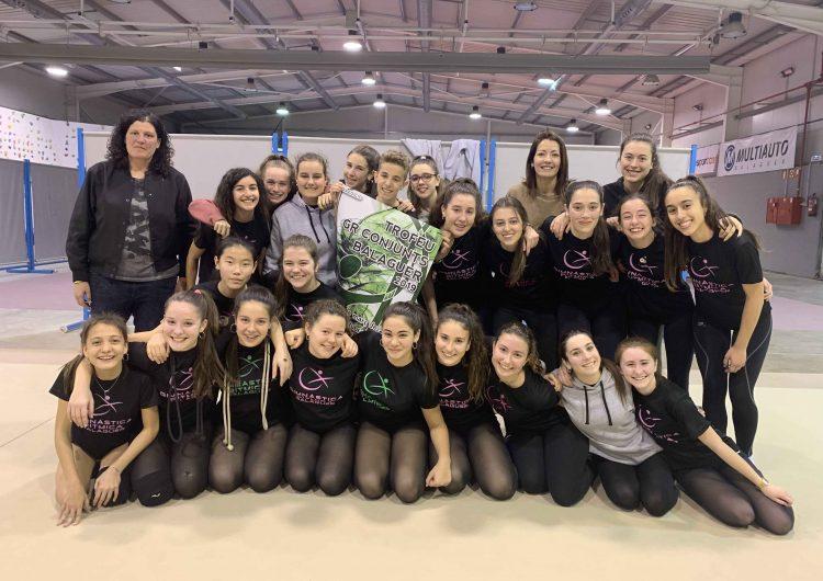 Balaguer celebra la 13a edició del Trofeu de Gimnàstica Rítmica aquest diumenge 10 de març