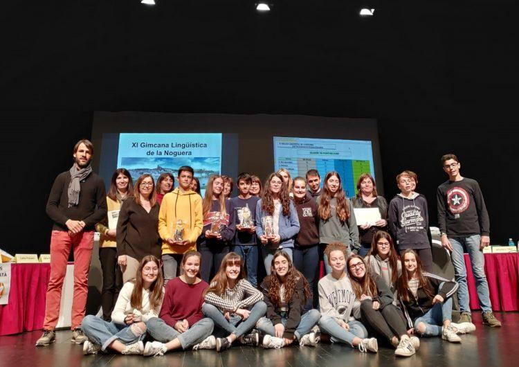 L'INS Ciutat de Balaguer guanya la XI Gimcana Lingüística de la Noguera