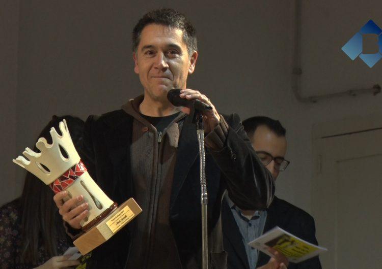 Martí Gironell distingit amb el Premi Rotllana a Vallfogona de Balaguer