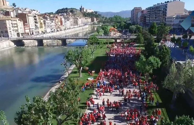 """Les millors imatges del """"Posa't la gorra"""" a Balaguer"""