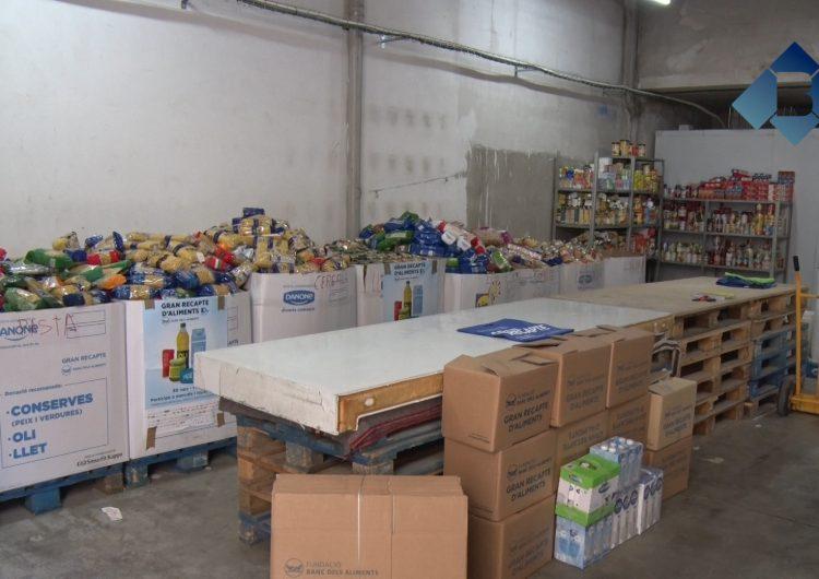 Balaguer recull 17.000 quilos d'aliments amb el Gran Recapte
