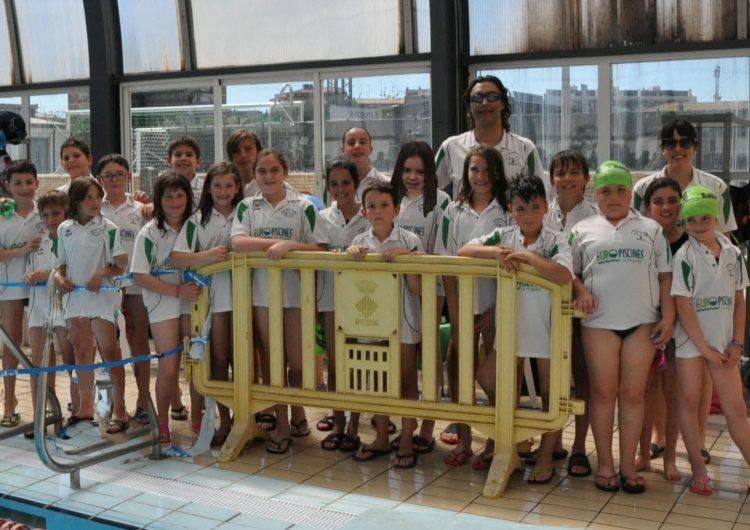 Vint nedadors del CEN Balaguer, al Campionat de Catalunya de Relleus de natació