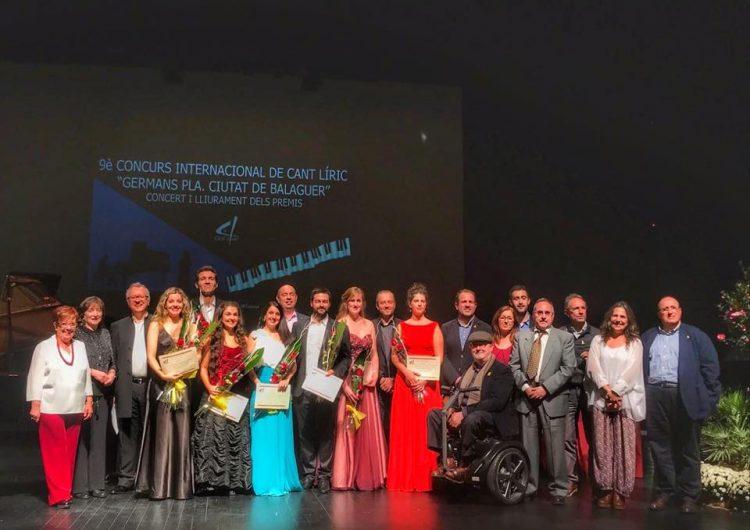 """Anabel Real, guanyadora del 9è Concurs Internacional de Cant Líric """"Germans Pla, Ciutat de Balaguer"""""""