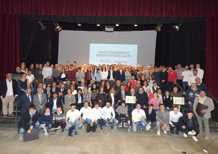 Vint-i-dos esportistes i equips de la Noguera, entre els 180 de la plana de Lleida reconeguts per la Generalitat