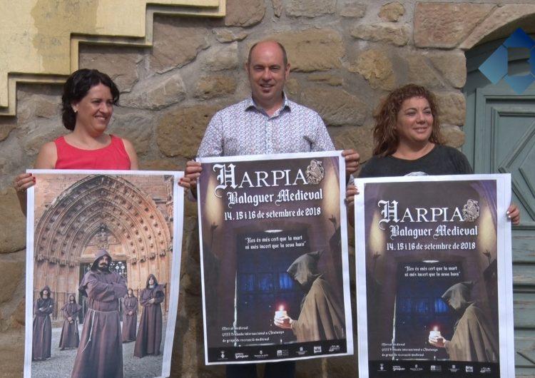 Balaguer celebrarà la festa medieval Harpia del 14 al 16 de setembre